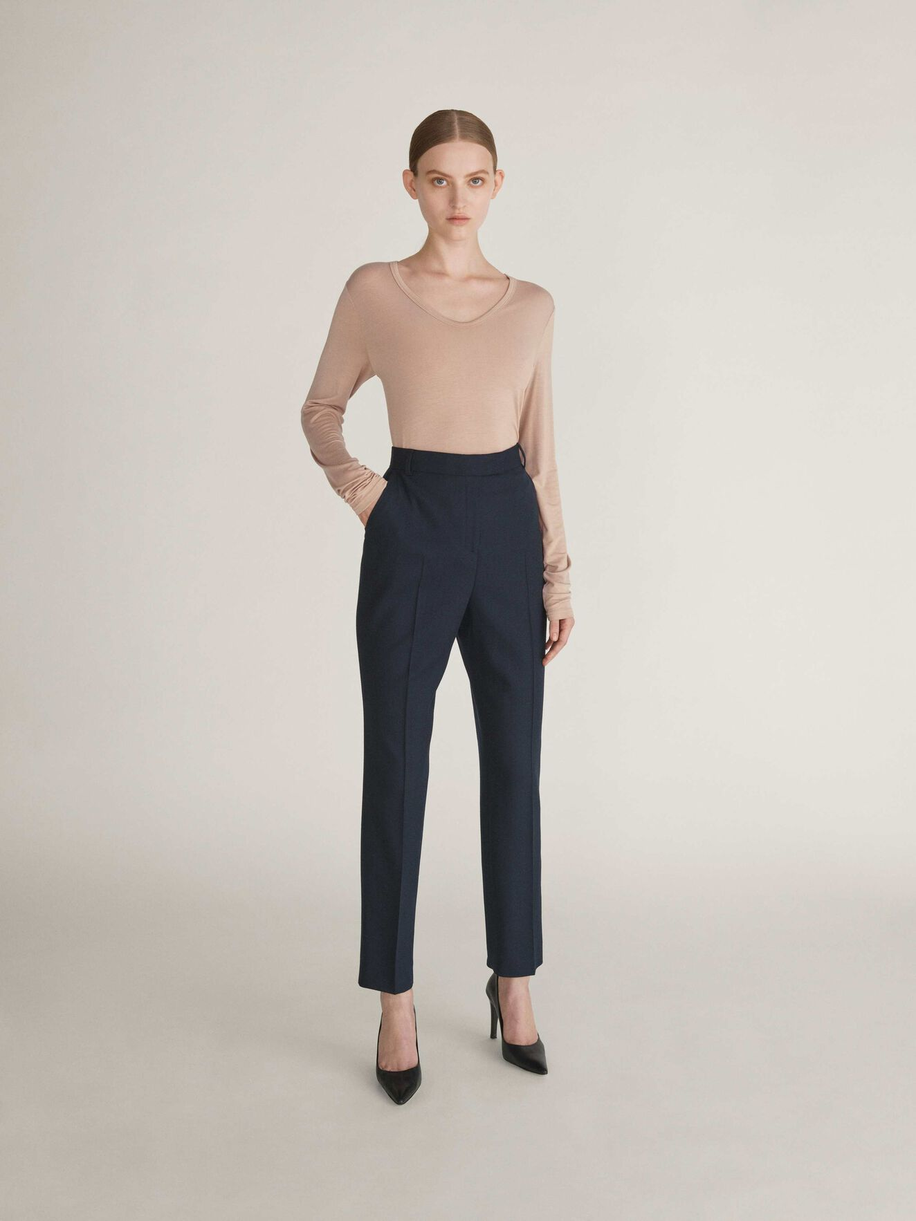 Seanessa Trousers in Dark Sea from Tiger of Sweden
