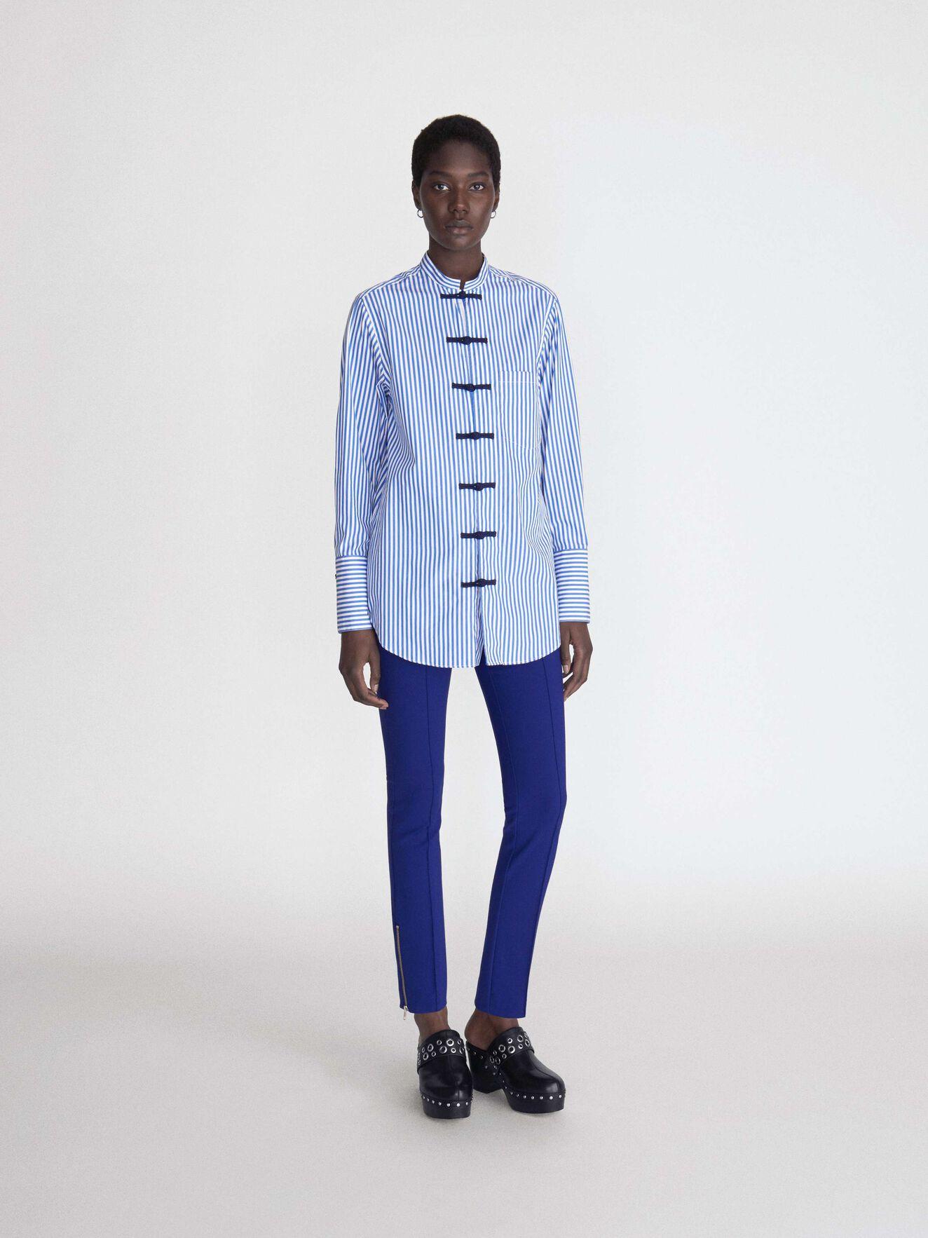 Loane 2 Trousers in Deep Ocean Blue from Tiger of Sweden