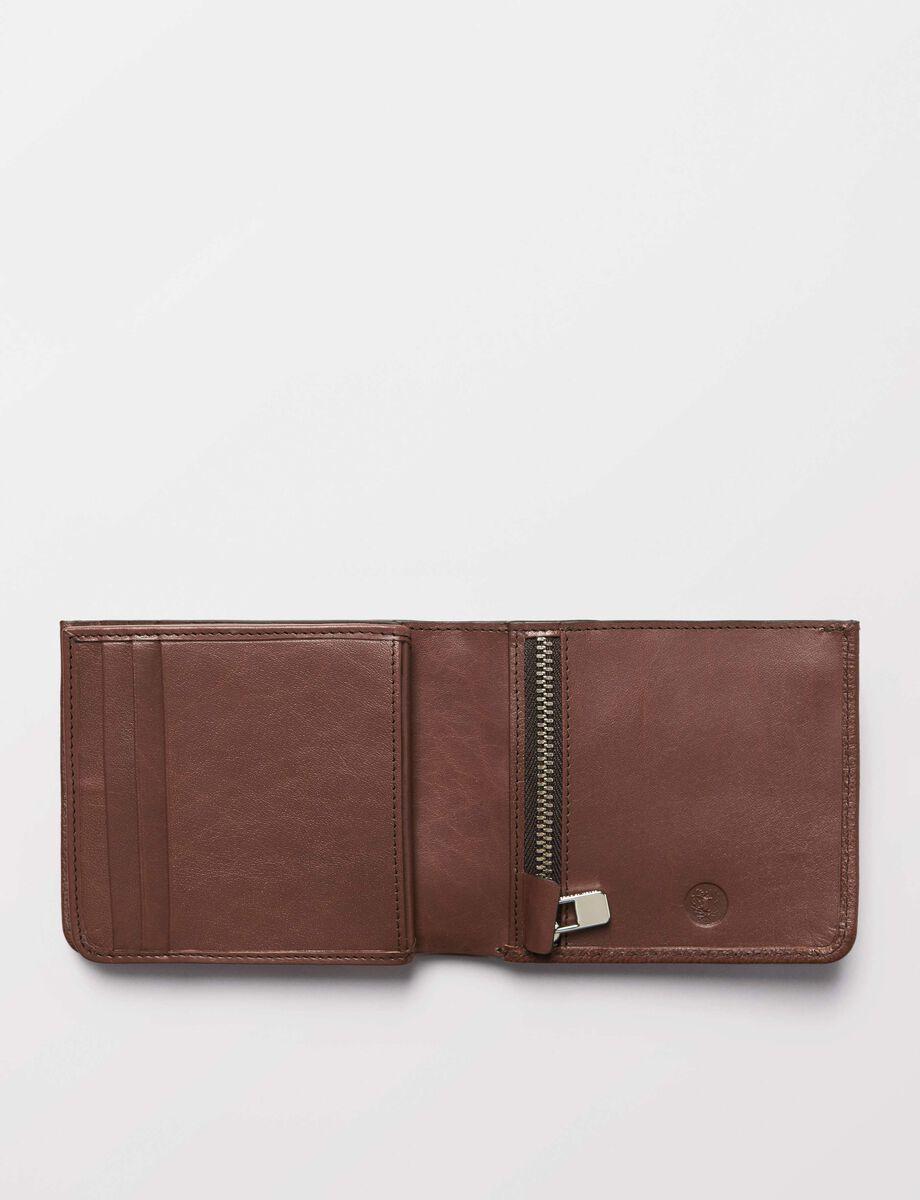 Marvalio wallet in Medium Brown from Tiger of Sweden