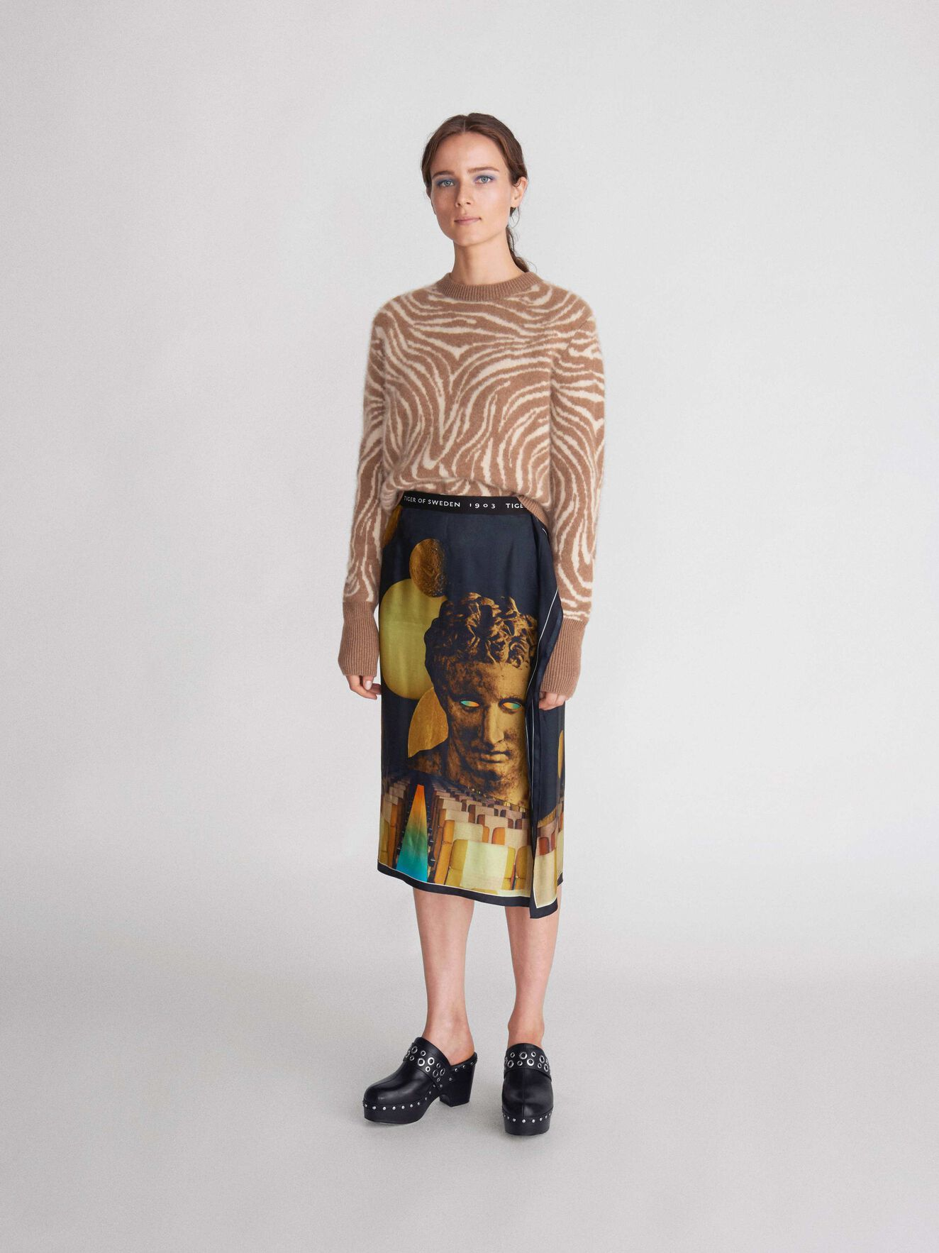 Macette J Pullover in Print from Tiger of Sweden