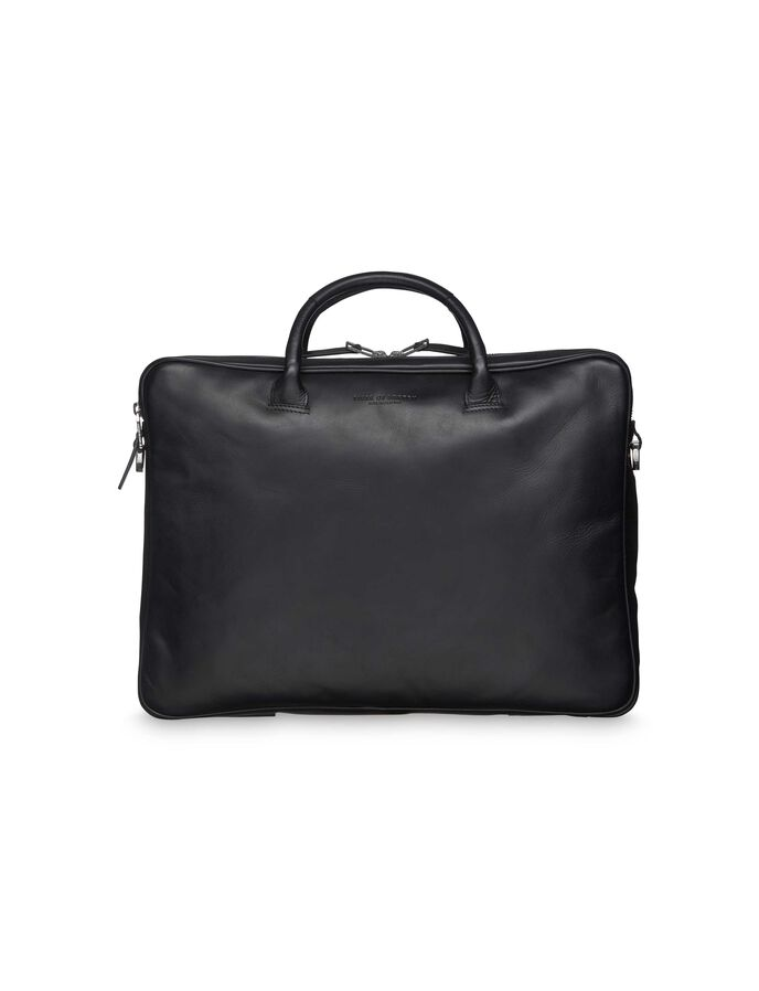 ANDRASMUS BRIEFCASE in Black from Tiger of Sweden