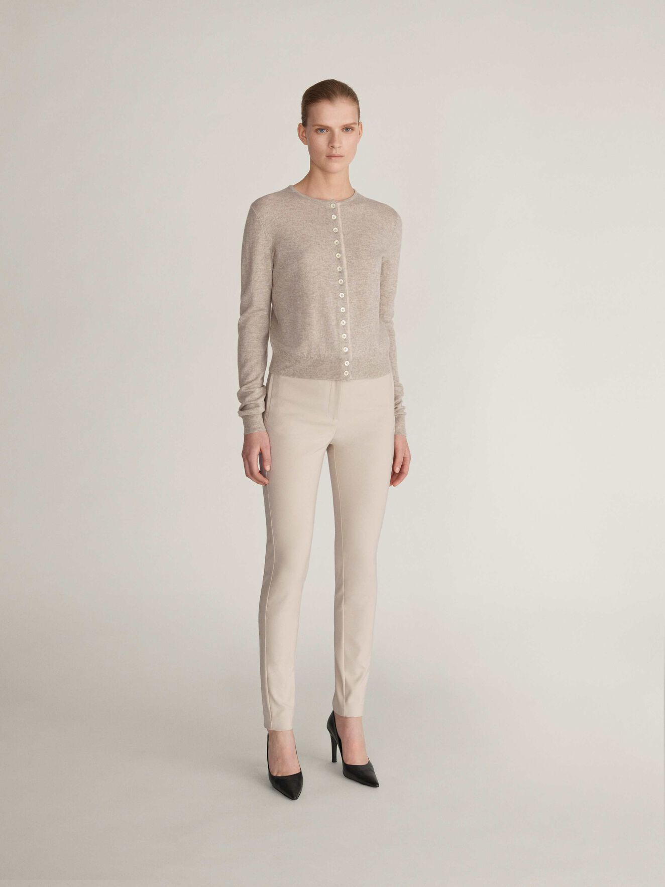 Cristin S Trousers in Roasted Oat from Tiger of Sweden