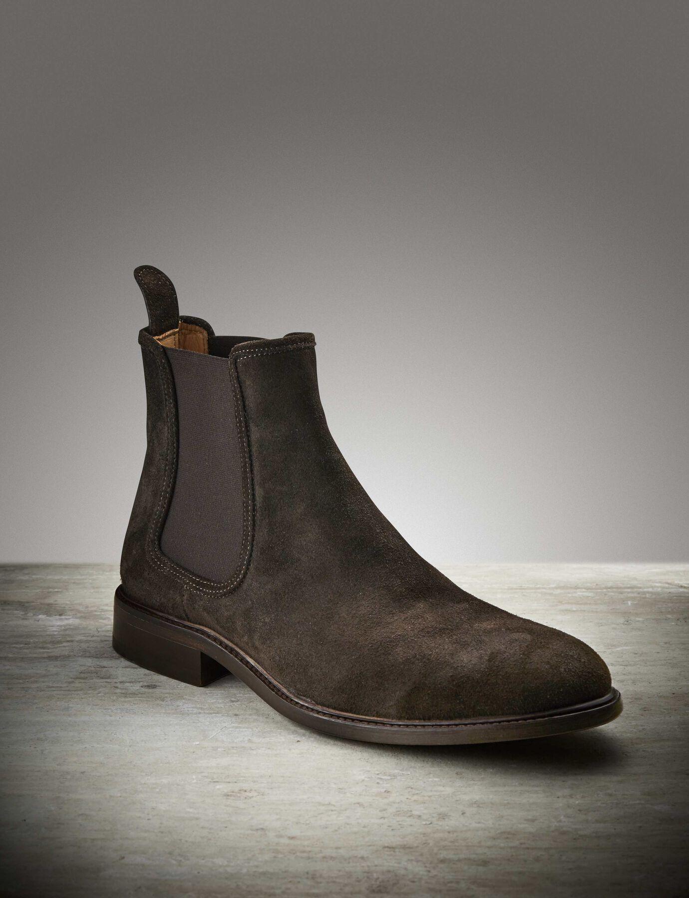 Montan S Boot in Dark Brown Suede from Tiger of Sweden
