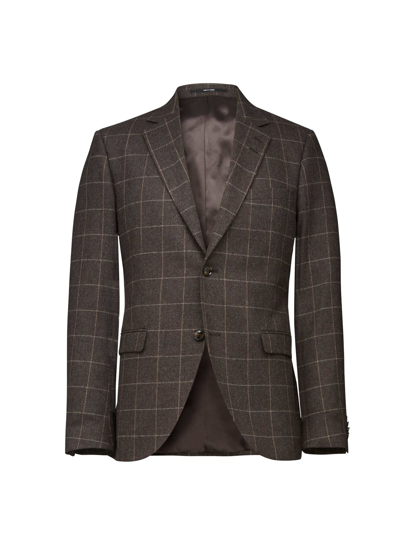 LAMONTE 3 BLAZER in Brown from Tiger of Sweden