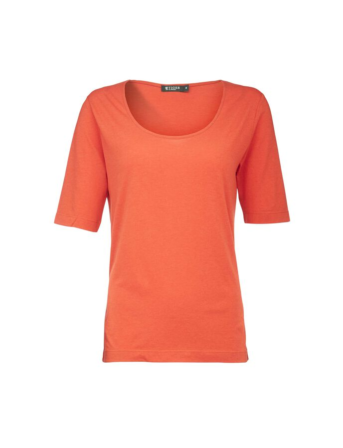 ESHA T-SHIRT in Aurora Red from Tiger of Sweden