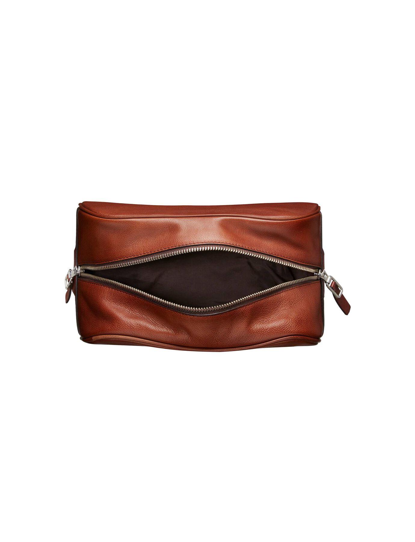 Bonardi toiletry bag in Medium Brown from Tiger of Sweden