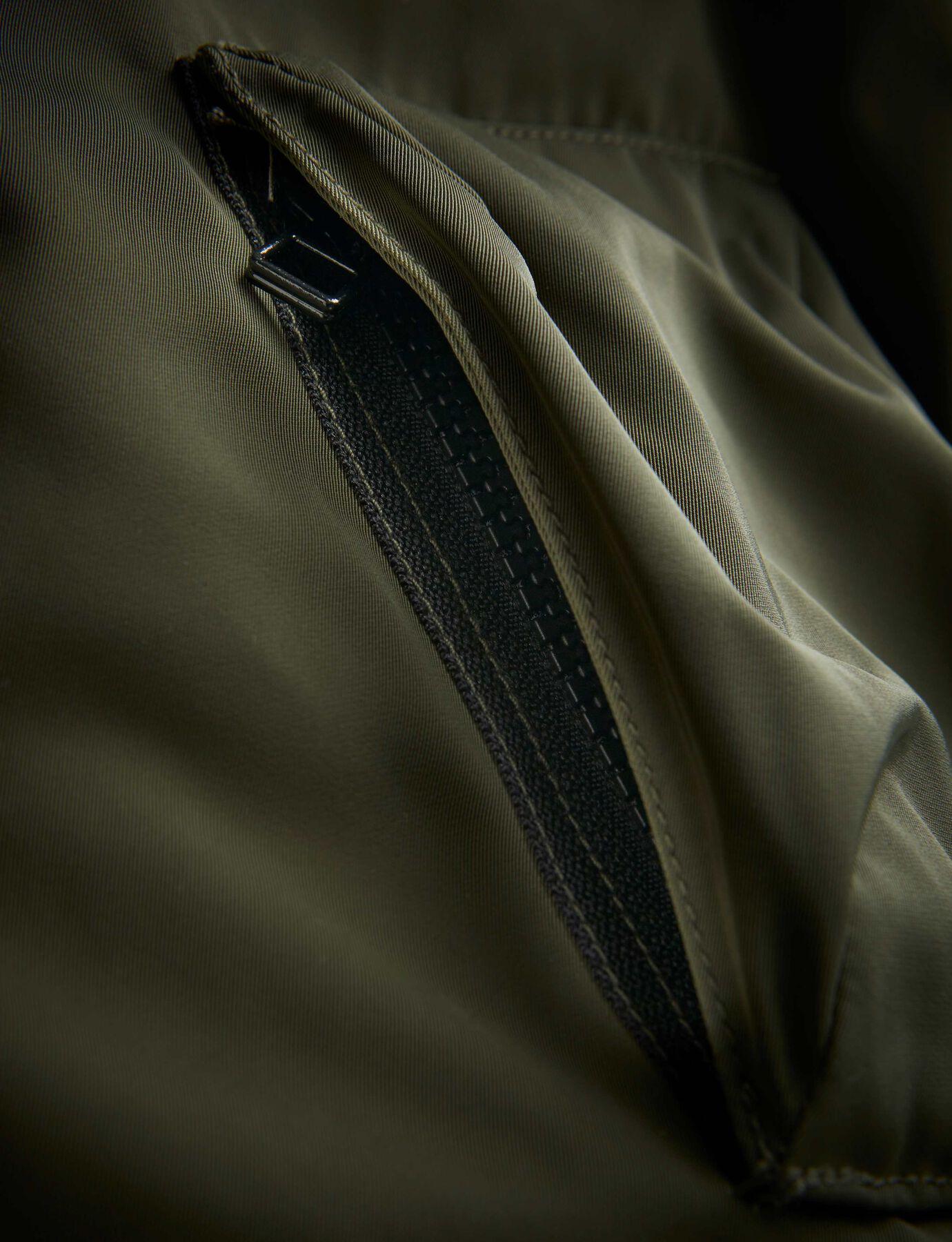SOB JACKET in Dark Khaki Green from Tiger of Sweden
