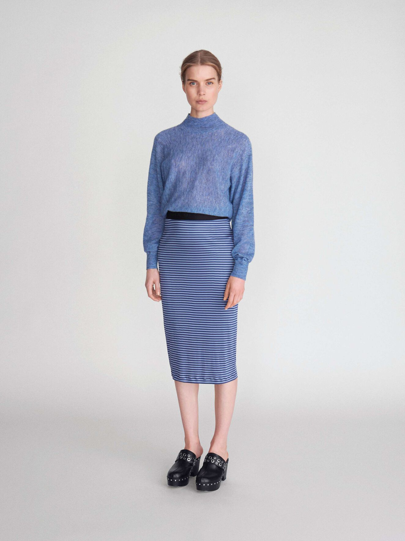 Dyana Pullover in Soft blue from Tiger of Sweden