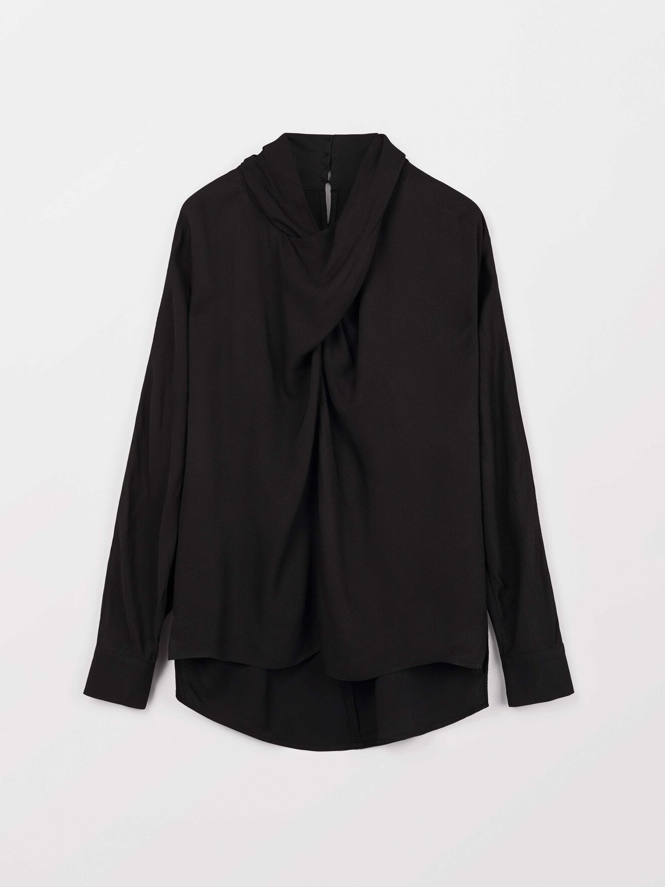 Pappus V Shirt in Midnight Black from Tiger of Sweden