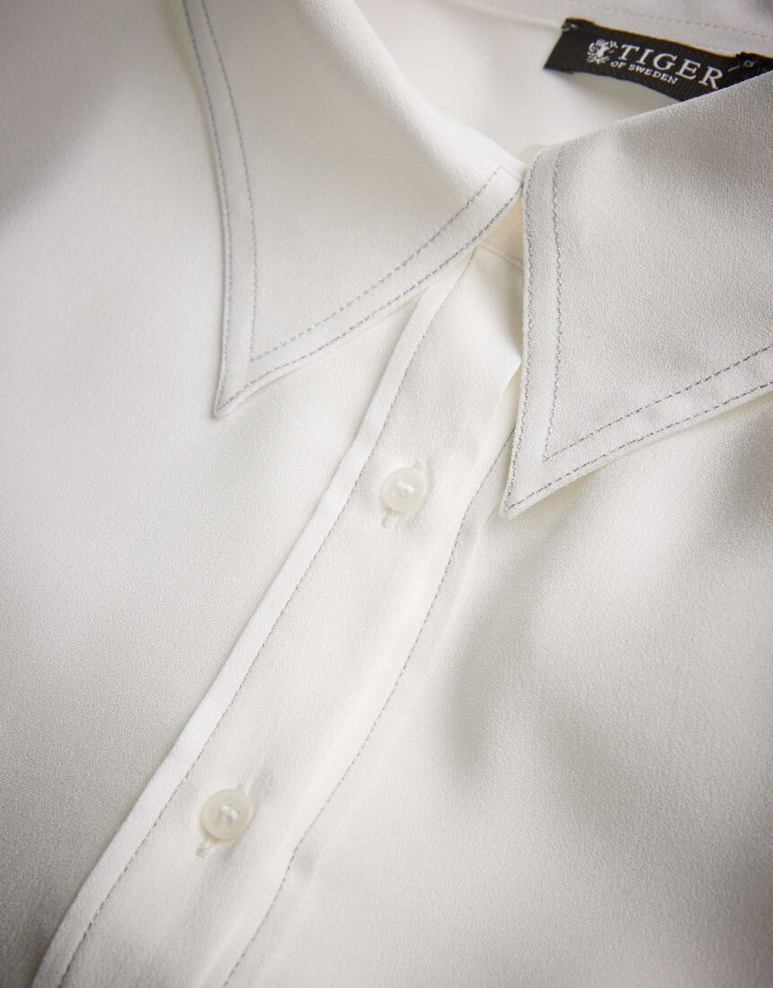 Triana shirt in Star White from Tiger of Sweden
