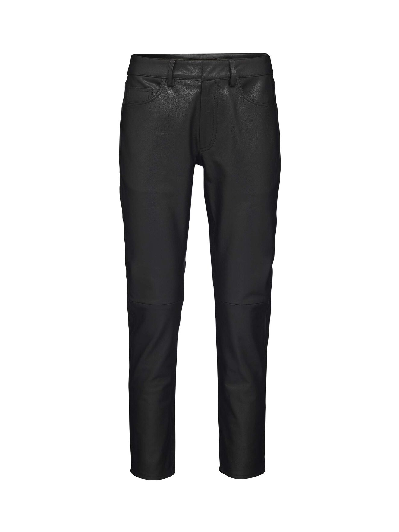 Blade leather trousers in Black from Tiger of Sweden