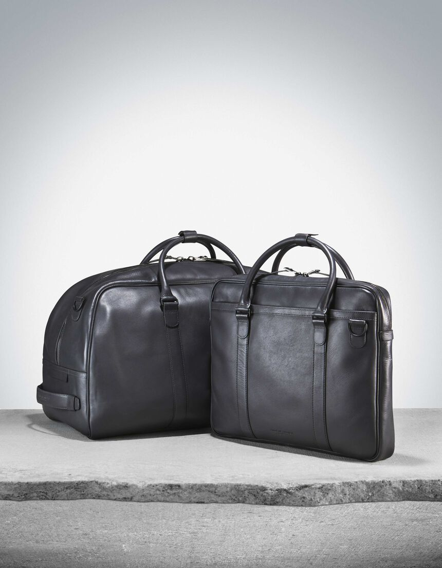 MARQUET BRIEFCASE in Fall Concrete from Tiger of Sweden