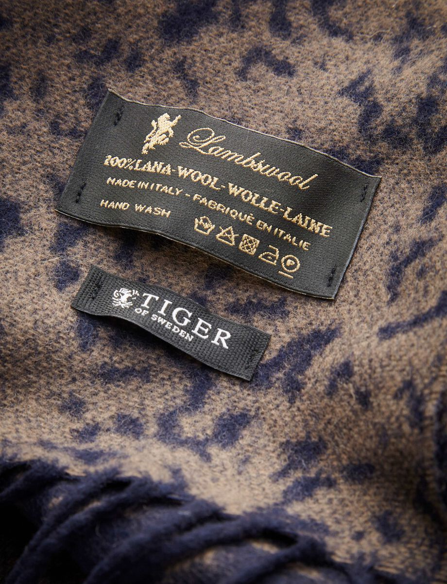 CONNISTON SCARF in Stallion Blue from Tiger of Sweden