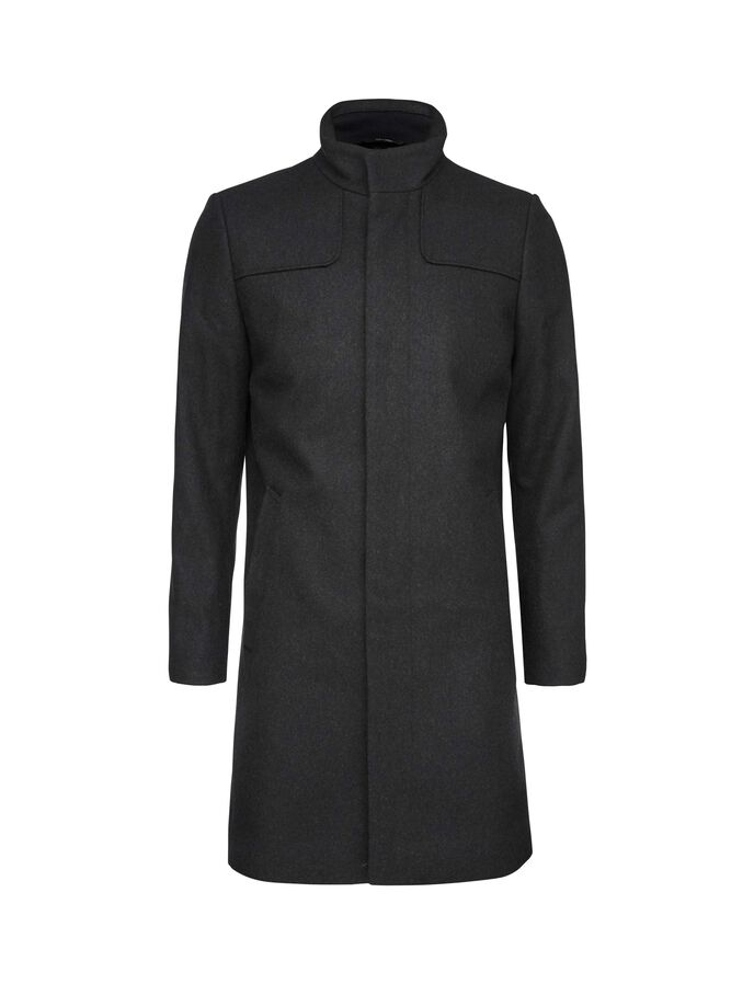 EGAL 4 COAT in Charcoal from Tiger of Sweden