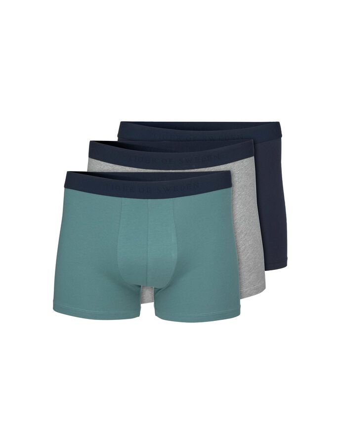 KNUTSFORD BOXER SHORTS in Grey melange from Tiger of Sweden
