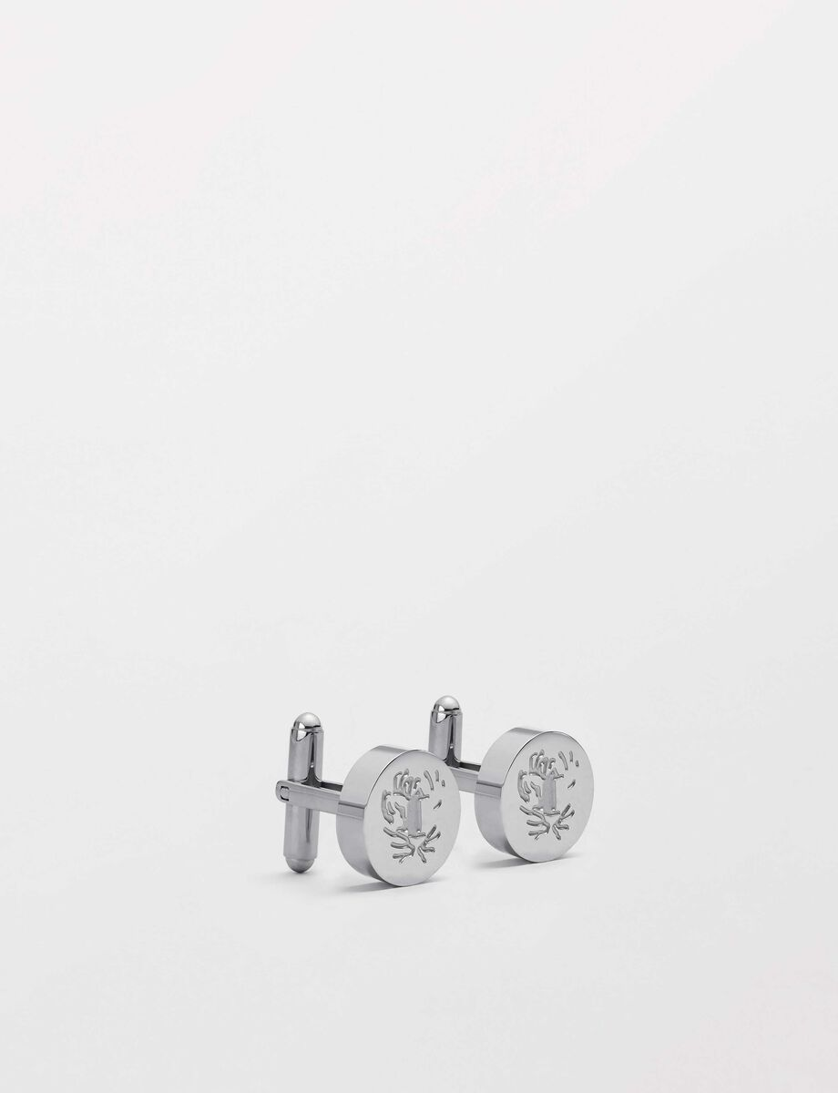Rodolfo Cufflinks in Pattern from Tiger of Sweden